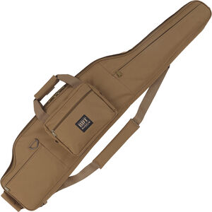 "Bulldog Tactical Long-Range Rifle Case 54"" Long 600 Denier Soft Case Tan"