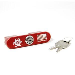 Black Rain Ordnance AR-15 Safety Lock, Prevents Charging/Firing, Red