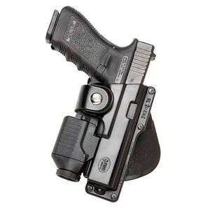 Fobus Light or Laser Roto Paddle Holster Right Hand Black Glock 20, 21, 37 Kydex GLT21RP