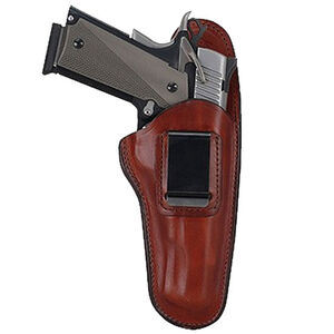 Bianchi #100 Compact Autos Professional Inside Waistband Holster Left Hand Size 11 Leather Plain Tan 19235