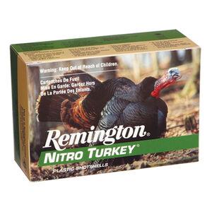 """Remington Nitro Turkey 12 Gauge Ammunition 10 Rounds 2-3/4"""" #4 Lead 1-1/2 Ounce 1260 fps"""
