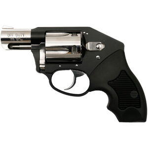 """Charter Arms Off Duty Double Action Revolver .38 Special 2"""" Barrel 5 Rounds Compact Rubber Grips Black/Hi Polish Finish 53921"""
