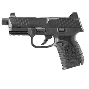 "FNH FN-509 Compact Tactical 9mm Luger Semi Auto Pistol 4.32"" Threaded Barrel 24 Rounds Ambidextrous Controls Polymer Frame Black"