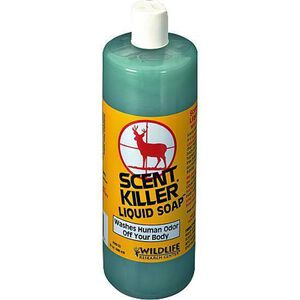Wildlife Research Scent Killer Antiodor Liquid Soap 12 Fluid Ounces 540
