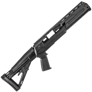 Archangel Sparta Pistol Grip Conversion Stock Ruger Mini 14/Mini 30/6.8 Ranch Rifle Only Black Polymer