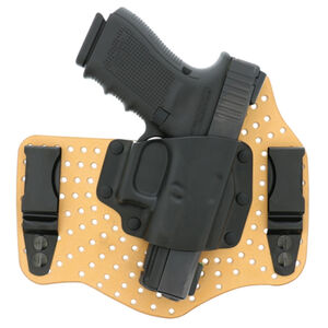 Galco KingTuk Air Honor Defense Honor Guard/S&W M&P Shield 9/40 Tuck-able IWB Holster Right Hand Draw Leather/Kydex Tan