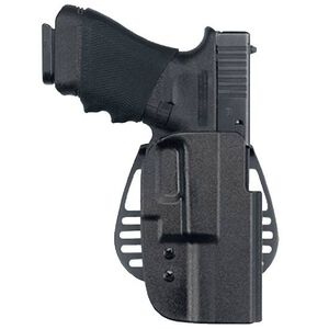 Uncle Mike's Kydex Beretta 92, 96 Paddle Holster Right Hand Kydex Black 54201