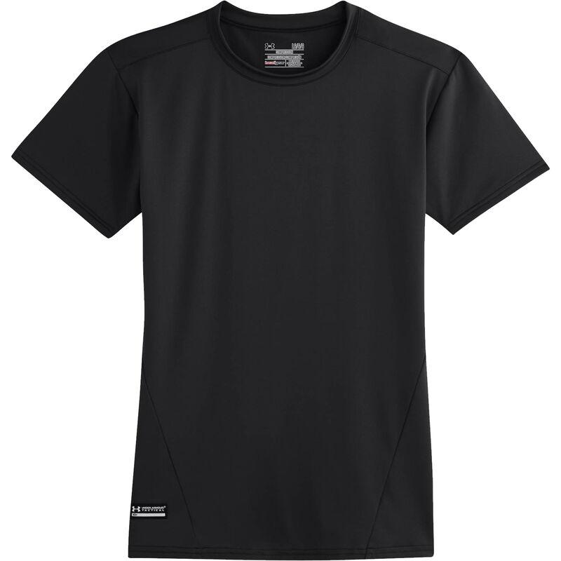 Under Armour Men's Tactical Heat Gear Compression S/S Shirt Large Tan