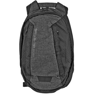 """Grey Ghost Gear Scarab Day Pack Backpack 17.5""""x11""""x7"""" Overall 1037 Total Cubic Inches Ripstop Nylon Black/Black Diamond Pattern"""