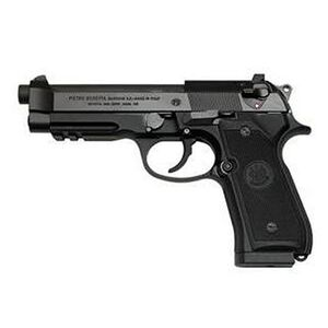 "Beretta 92A1 Semi Auto Handgun 9mm Luger 4.9"" Barrel 10 Rounds Picatinny Rail Black Finish J9A9F11"
