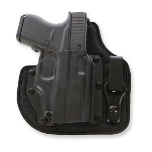 Galco QuickTuk Cloud IWB Holster for GLOCK 43 w/CTC Laserguard Right Hand Kydex Black
