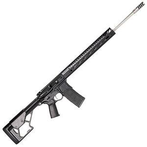 """Seekins Precision DMR AR-15 6mm ARC Semi Auto Rifle 22"""" Stainless Steel Barrel 15"""" SP3Rv3 M-LOK Hand Guard 10X-Ray Stock Matte Black"""