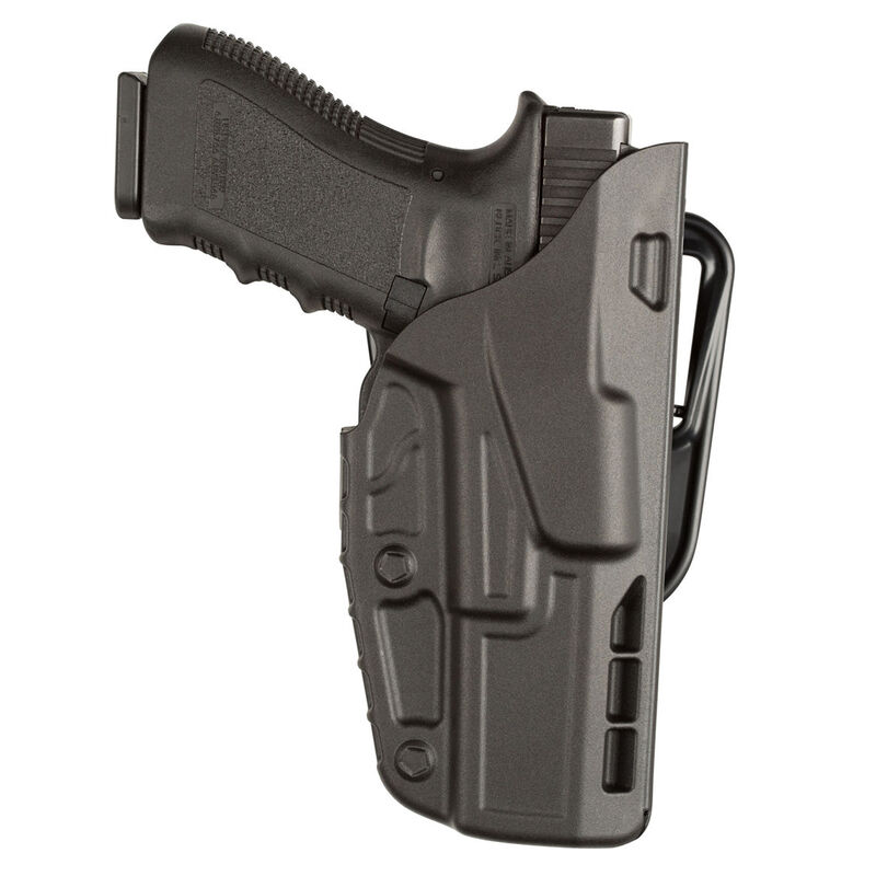 Safariland Model 7377 S&W M&P 9/40 ALS Open Top Concealment Belt Slide Holster Right Hand Plain Black 7377-219-411