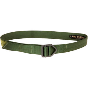 """TAC SHIELD Tactical Riggers Belt 1.75"""" Extra Large 42-46"""" OD Green"""