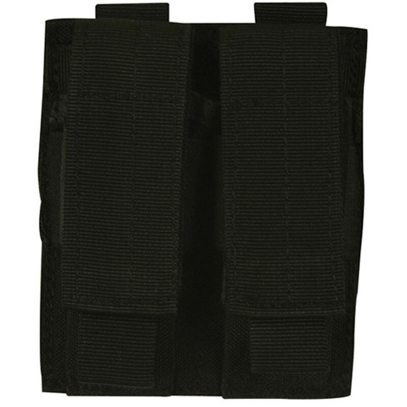 Fox Outdoor Dual Pistol Mag MOLLE Pouch Black 57-5521