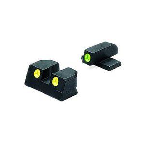 Tru-Dot Night Sight Sig Sauer .40 & .45 ACP P Series, Green Front/Green Rear