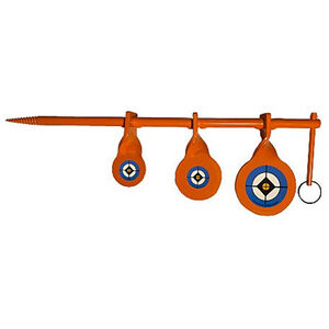 Do All Outdoors Triple Tree Spinner Target for .177 caliber Airgun rifles and pistols