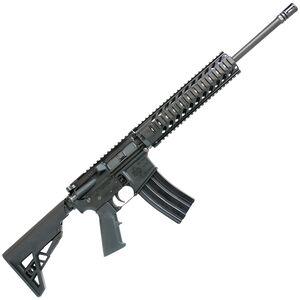 "Diamondback Firearms DB15 M4 Carbine AR-15 Semi Automatic Rifle 5.56 NATO 16"" Barrel 30 Rounds Free Float 10"" Quad Rail Handguard Collapsible Stock Black"
