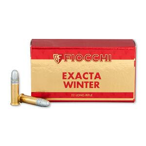 Fiocchi Exacta Super Match Rifle Winter .22LR Ammunition 40 Grain 1070 fps