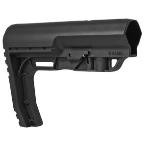 Mission First Tactical AR-15 Battlelink Minimalist Stock Mil-Spec Polymer Black BMSMIL
