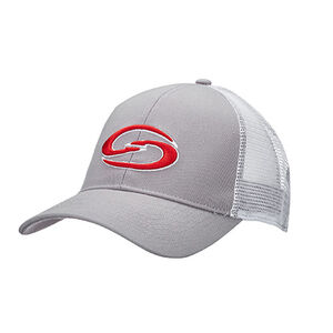 Strike King Trucker Cap Grey Body/White Neon Mesh