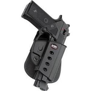 Fobus Evolution Holster Beretta 92 Series/Taurus PT100,PT101,PT99 Right Hand Roto-Paddle Attachment Polymer Black