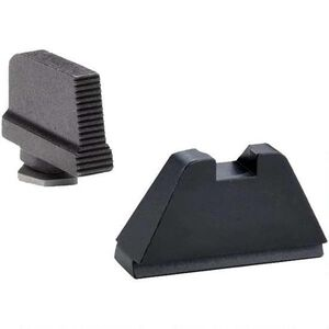 AmeriGlo Tactical Sight Set For GLOCK, Suppressor Height, Steel