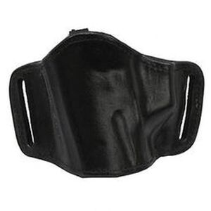 Bianchi #105 Large Frame Autos Minimalist Belt Slide Holster With Slots Left Hand Size 13/15 Plain Black 19503