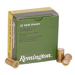 Remington .32 S&W Blank Cartridge 50 Round Box