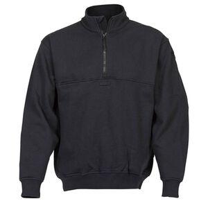 Elbeco Shield Job Shirts Self Collar Size 3XL Regular Cotton Blended Fleece Midnight Navy