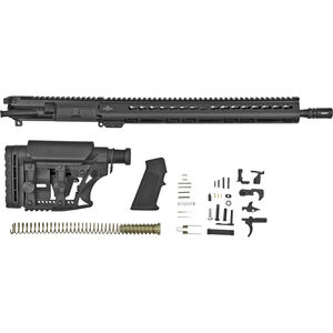"Luth-AR Complete AR Build Kit, .223 Remington, 16"" Bull Barrel, Key-Mod Handguard, Black Finish"