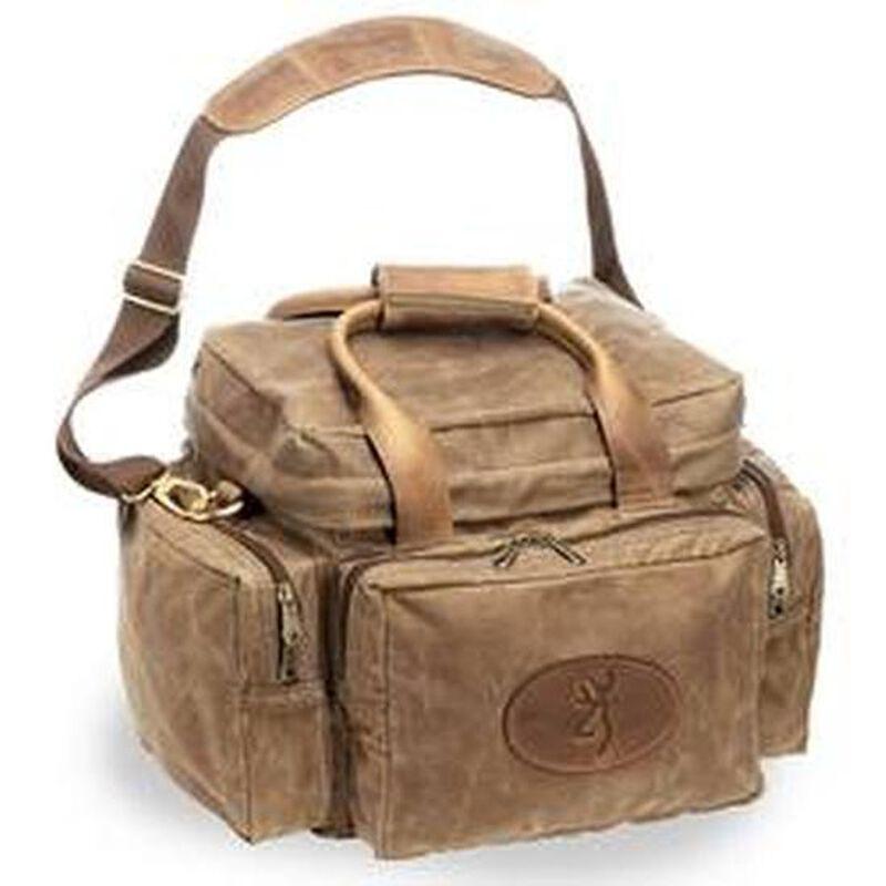 Canvas Santa Fe >> Browning Santa Fe Shooter S Bag 12 X10 X9 Waxed Canvas Tan 121040081