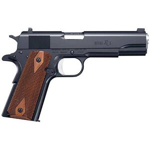 "Remington Model 1911 R1 Semi Auto Handgun .45 ACP 5"" Barrel 7 Rounds Double Diamond Walnut Grips Black Finish 96323"