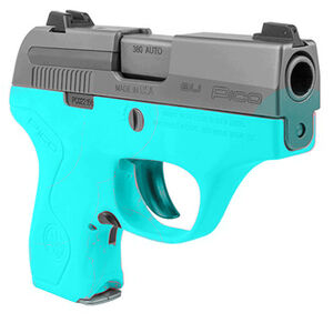 Beretta Pico Factory Replacement Grip Frame/Housing Polymer Robin's Egg Blue