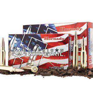 Hornady American Whitetail 7mm-08 Ammunition 20 Rounds InterLock JSP 139 Grains 8057