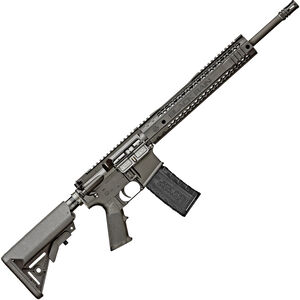 "Black Rain BRO SPEC15 .300 Blackout AR-15 Semi Auto Rifle 16"" Barrel 30 Rounds M-LOK Compatible Handguard SOPMOD Collapsible Stock Black"