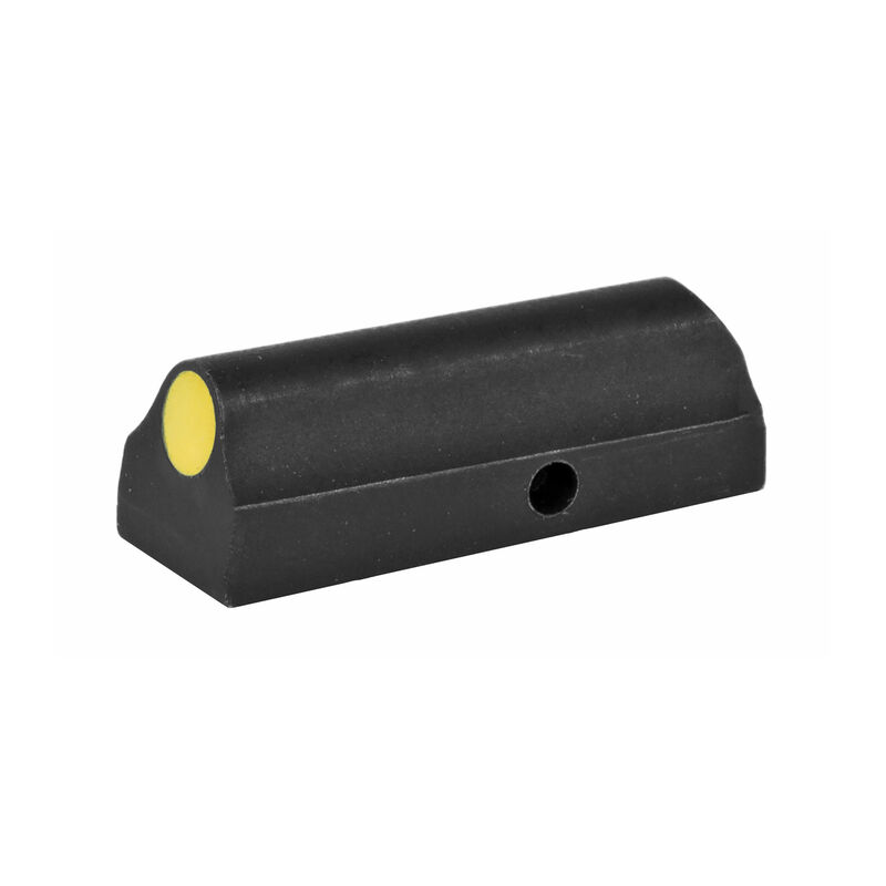 XS Sight Systems Ember Standard Dot Yellow Ruger LCR .22LR/.22WMR/9mm Luger Models Only Front Sight Matte Black
