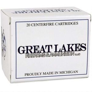 Great Lakes Ammunition .50 Beowulf Ammunition 20 Rounds XTP HP 350 Grains Remanufactured A687238
