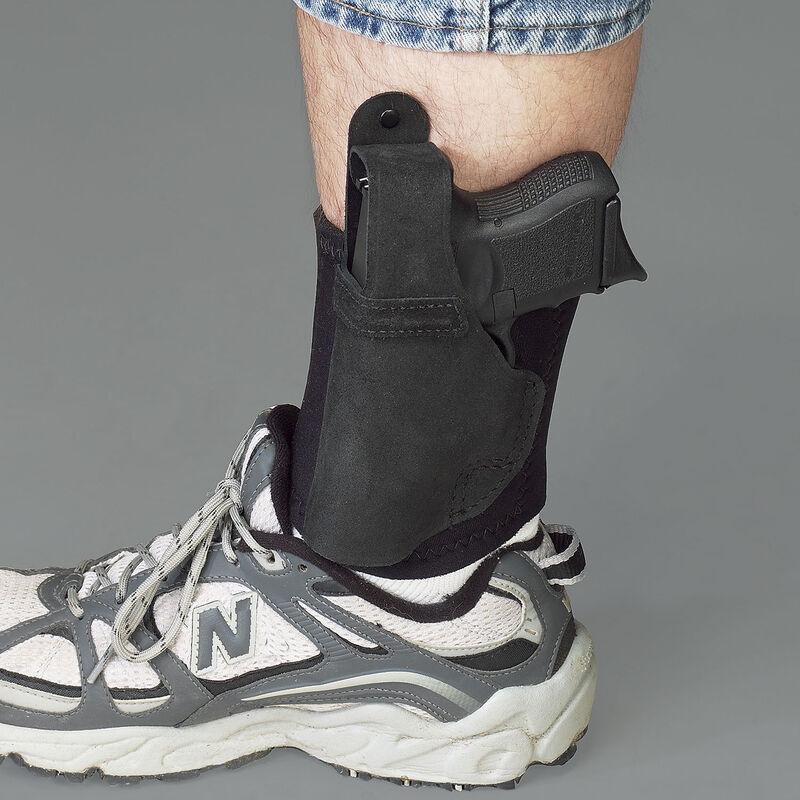 Galco Ankle Lite GLOCK 26 Ankle Holster Left Hand Black