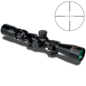 KONUSPRO 2-7x32mm Riflescope With Engraved Reticle, Black