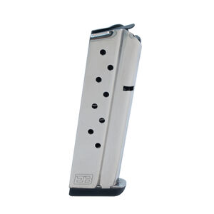 Ed Brown 1911 Government/Commander 9 Round Magazine .38 Super Stainless Steel Natural Finish