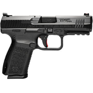 "Century Arms Canik TP9SF Elite ONE 9mm Luger Semi Auto Handgun 4.19"" Barrel 15 Rounds FO Sights Changeable Backstrap Polymer Frame Black Finish"