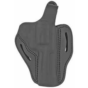 1791 Gunleather RVHX-2S OWB Thumbreak Belt Holster for K Frame Revolvers Right Hand Draw Leather Stealth Black
