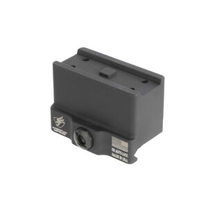 American Defense Aimpoint T1 Micro Mount 1 Piece Lower 1/3 Co-Witness Black AD-T1-11-STD-TL