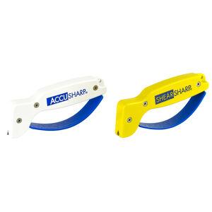 AccuSharp ShearSharp Combo Knife and Tool Sharpener Yellow/White