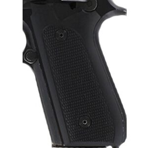 Hogue Extreme Series Taurus PT-99, PT-92, PT-100, PT-101 Checkered Grips G10 Black 99179