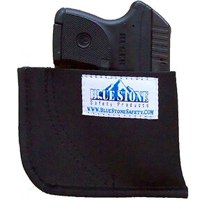 Blue Stone Safety Nylon Pocket Holster Black Right Hand