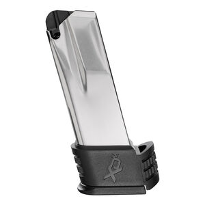 Springfield Armory XD(M) Compact 15 Round Extended Magazine 10mm Backstrap No.3 Stainless Steel