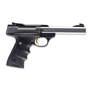"""Browning Buck Mark Standard Stainless URX Semi Auto Handgun .22 LR 5.5"""" Stainless Slabside Bull Barrel 10 Rounds Black UDX Grips Matte Black Frame"""