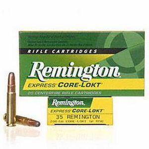 Remington Express .35 Remington Ammunition 20 Rounds 200 Grain Core-Lokt Soft Point Projectile 2080fps